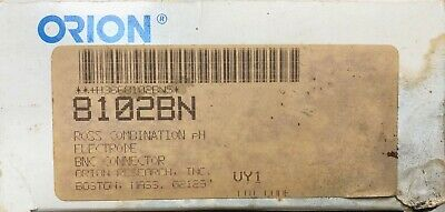 Orion 8102BN Ross comb pH Electrode w/ BNC connector Chemistry Lab Glassware