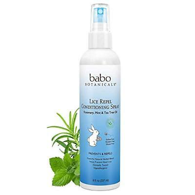 Babo Botanicals Lice Prevention Kids Conditioning Spray, 8-Ounce