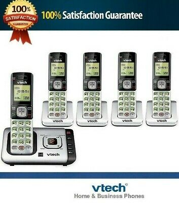 New - LANDLINE SET SYSTEM DECT 6.0 CORDLESS HOME PHONE ANSWERING MACHINE LOT
