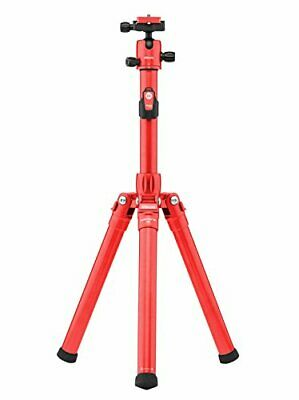 MeFOTO GlobeTrotter Air Tripod and Selfie Stick in One Kit - Red (GTAIRRED)