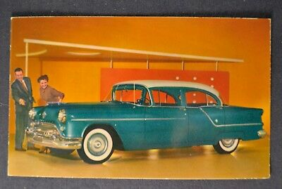 1954 OLDSMOBILE SUPER 88 4-Door Sedan Postcard Brochure Excellent Original  54