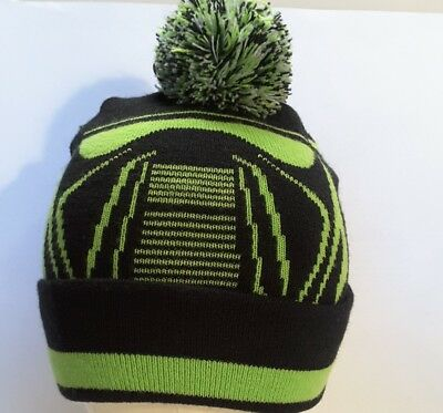 d912970860f NEW Star Wars Rogue One Death Trooper Knit Pom Beanie Black Green White One  Size