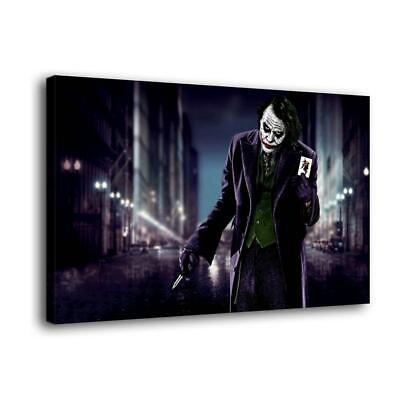 "12""x20""Marvel clown pictures hd canvas print home decor room wall art posters"