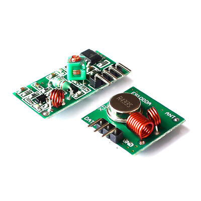 5pcs 433Mhz Wireless RF Transmitter and Receiver Link kit for Arduino/ARM/MCU
