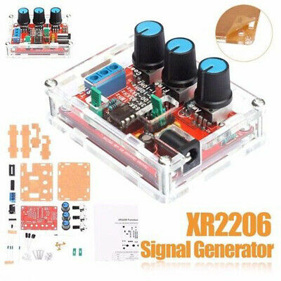 XR2206 Signal Generator Module Sine/Triangle/Square Wave Output 1Hz-1MHz DIY Kit