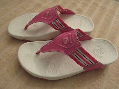 e6b4fad39 THERASHOE THONG SANDALS Flip Flops Therapeutic Thera Shoes Red White ...