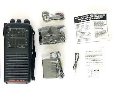 Radio Patrol 2000 5 BAND PORTABLE RADIO CB/Police/Air Craft Multi-Band