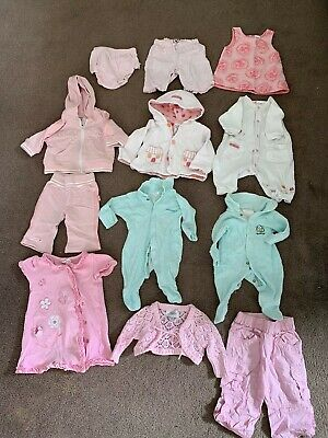 Baby Girl Clothes - Size 000 - Pk Of 12