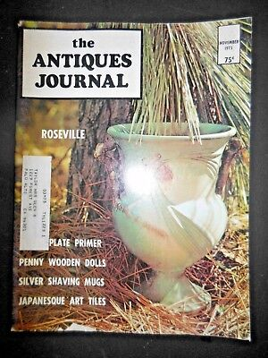 Antiques Journal Tunbridge Wells Ware UK Penny Wooden Dolls Silver Shaving Mugs