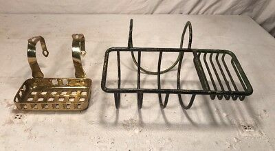 Antique Brass & Nickel Plated Brass Soap Holders S Sternag & Co New York C 1900