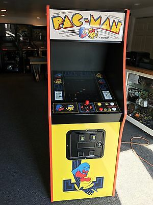 Restored PacMan Arcade Machine, Upgraded 412 Games!!