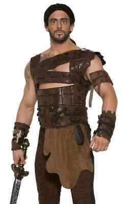 Faux Leather Armor Medieval Warrior Game Thrones Halloween Costume Accessory