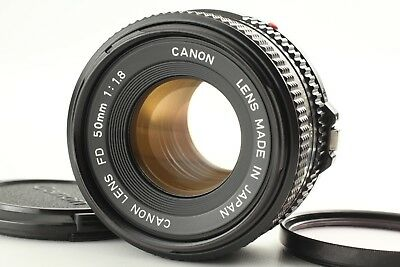 [EXC++++] Canon New FD NFD 50mm f/1.8 MF Lens for FD/FL Mount From JAPAN #78