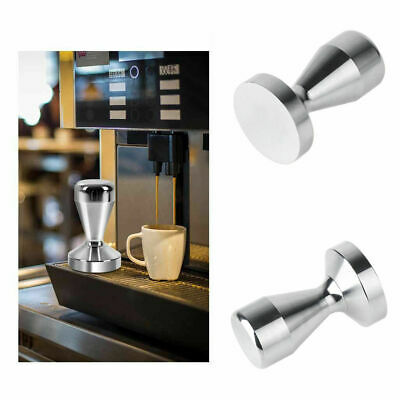 51mm Stainless Steel Press Coffee Cafe Tamper Barista Espresso Flat Base Tool UK