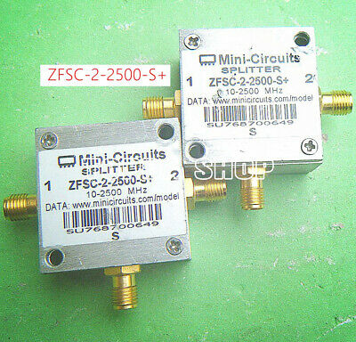 1pc Mini Circuits ZFSC-2-2500-S 10-2500MHz Power Splitter Combiner #YH-22