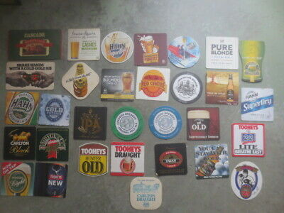 31 different AUSTRALIAN Breweries  Issue. BEER COASTERS
