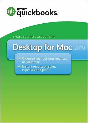 QuickBooks Desktop for Mac 2019 [MAC version - Physical CD]