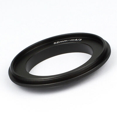 52mm Lens Macro Reverse Adapter Ring For Micro Four Thirds M43 Camera G10 E-M10