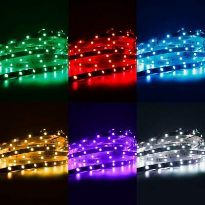 New LED Strip Lights Waterproof IR Controller 5M 5050 RGB 300 LEDs 12V + Remote