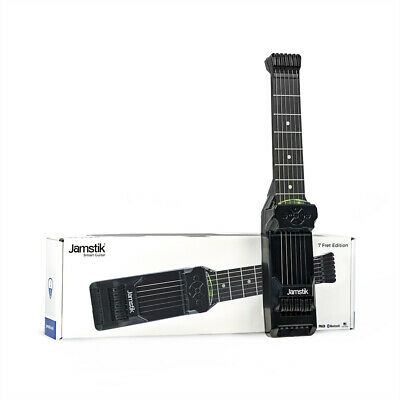 Jamstik 7 Compact iOS PC Guitar Trainer, J7-BLE-BK-R, Right Handed