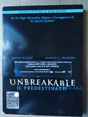 """Unbreakable Il Predestinato"" DVD Collector's Edition"