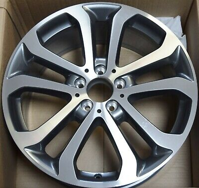 "Genuine Mercedes Ml M Gle Class W166 19"" 8.5J Alloy Wheel A1664011100 5 Spoke"