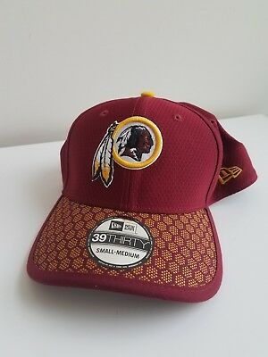 save off bfbb2 b2bc1 Washington Redskins NFL Sideline 39THIRTY Flex Hat Cap S M-New Era