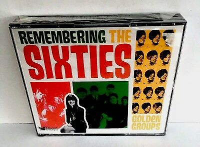 Readers Digest Remembering the Sixties CD - GOLDEN GROUPS 60's - NEW & SEALED