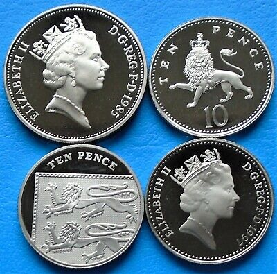 1971 -2011 Elizabeth II 10p Pence Decimal Proof Coin - Choose Your Year