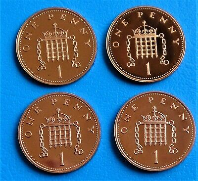 1971 -2012 Elizabeth II 1p Pence Decimal Proof Coin - Choose Your Year