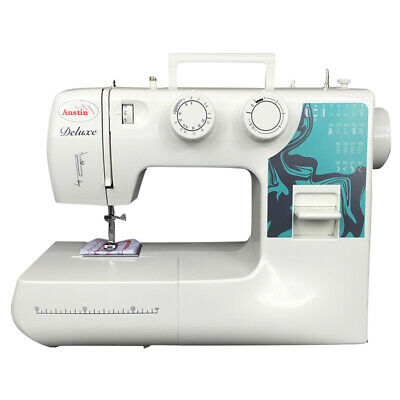 AUSTIN AS777L Deluxe Full Size New Sewing Machine 22 stitches and Led lightning