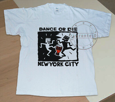 Vintage 1990's T shirt KEITH HARING Dance or Die NYC New York City Shirt