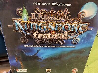 H.P. Lovecraft's Kingsport Festival Board Game - NEW SEALED