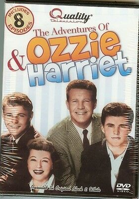 The Adventures of Ozzie & Harriet (8 Episodes) - DVD - NEW - FAST FREE SHIPPING