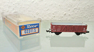 Freight Cars Toys & Hobbies Roco Spur N Güterwagen Mit Ladung In Ovp 25028 High Quality