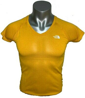 b14bf556 The North Face Women's Short Sleeve Reaxion AMP V-Neck Tee Shirt