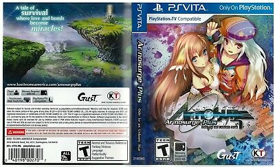 Sony PlayStation Vita Replacement Case and Cover Ar Nosurge