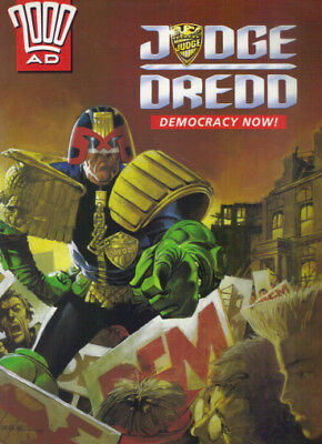 2000Ad - Judge Dredd Democracy Now! - Mandarin 1992 Pb Graphic Novel - Exc Con
