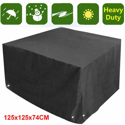 Heavy Duty Waterproof Rattan Patio Table Cover Outdoor Garden Furniture Covers