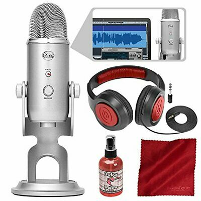 Blue Microphones Yeti Studio USB Microphone All-In-One Professional Recording Sy