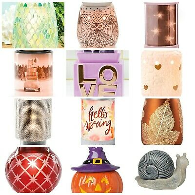 No Bulbs SCENTSY Warmers Full Size and Mid Size Choices Slightly Used in Box
