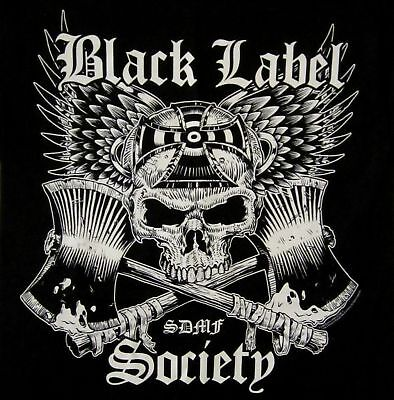 BLACK LABEL SOCIETY cd lgo CROSSED AXES Official SHIRT LAST SMALL New oop
