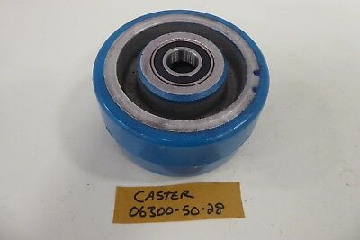 Caster 06300-50-28 Blue Heavy Caster Wheel with Bearings *