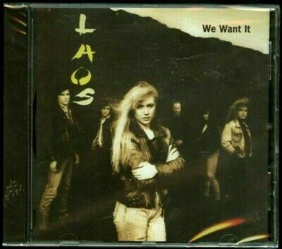 Laos  We Want It- (1990) Import CD  (brand new)