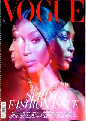 Vogue Magazine Spring Fashion Issue March 2019 ~ ~ Damaged Covers ~ ~ New ~