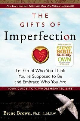 Let Go by Brene Brown/The Gifts of Imperfection:, Paperback, 2010, New.!