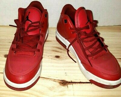 hot sale online 1b154 effc8 Youth Nike Jordan Flight Red Basketball Sneakers Youth Size 5.5 Good  Condition