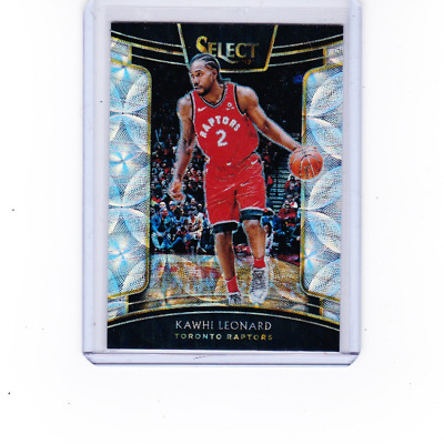 2018-19 Panini Select Concourse #93 Kawhi Leo Scope Prizm Refractor Raptors