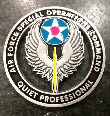 USAF SPECIAL OPERATIONS Command Challenge Coin Hurlburt