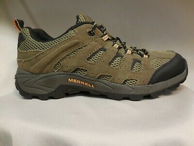 d6c41557601 YOUTH BIG KIDS Size 5 Boots Shoes Merrell Hiking Mesa Ventilator Mid ...